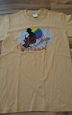 New Orleans Jazz t shirt adult size Small