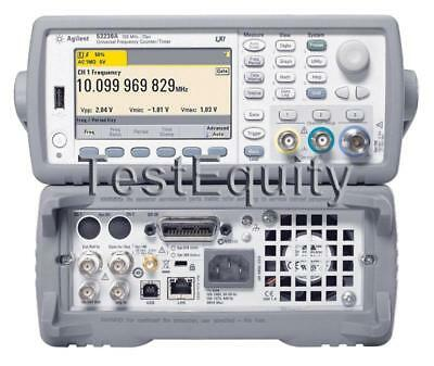 Keysight / Agilent 53230A 350MHz Universal Frequency Counter / Timer Stock Photo