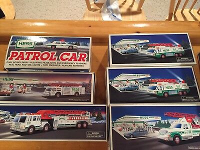 Lot Of Hess Emergency Vehicles