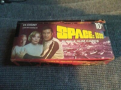 Vintage 1976 Space: 1999 Bubble Gum Trading Cards-Full Box w/ 24 Unopened Packs