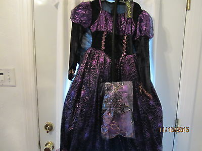 Witch Costume   Size (  10-12  )