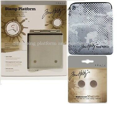 Tonic Tim Holtz Stamp Platform for Rubber and Clear Stamps & Accessaries !