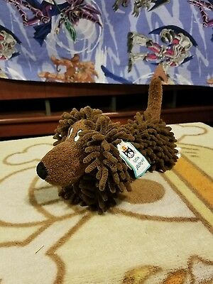 """Little Jellycat Approx 10"""" Silly Sausage Dog Plush Brown Puppy With Tags"""