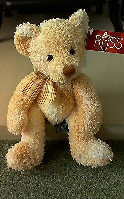 Retired Russ Berrie Bear Fraser No: 24094