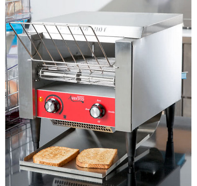 """NEW! Commercial  Avantco T140 Electric Conveyor Toaster 3"""" Opening Compact 120V"""