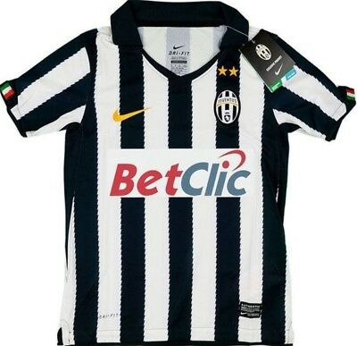 Juventus Kids Nike Home Shirt (Small Boys)