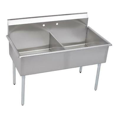 Elkay - B2C18X21X - 24 1/2 x 39 in Two Compartment Utility Sink