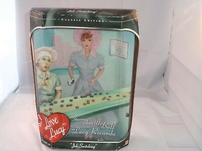 "Mattel Doll 21268 I LOVE LUCY COLLECTION Episode 39 ""Job Switching"" NEW IN BOX!"