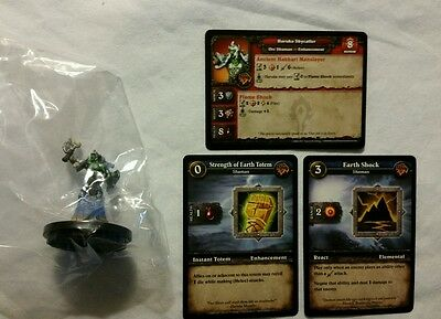 World of Warcraft Miniature Game, Haruka Skycaller figure,Core-R and cards, WoW