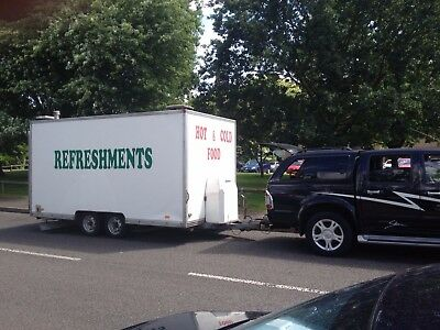 Mobile Catering Business (Pitch, Events etc) Fully Operational Running Business