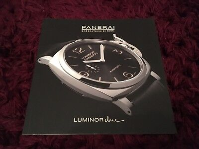 Panerai Luminor Due Watch Catalogue 2016