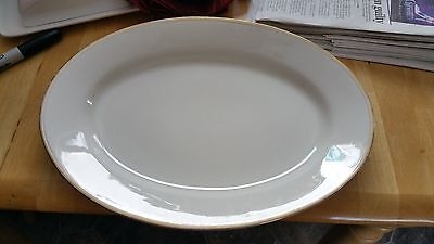 """Reduced ! Antique J.A.G. Meakin 14"""" Platter Made in England"""