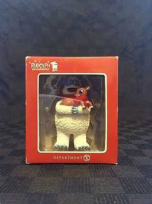 NIB Dept 56 Bumble & Rudolph The Red Nose Reindeer Christmas Tree Ornament