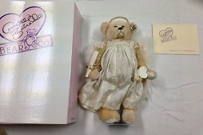 "Annette Funicello ""Celeste"" Bear Never Fear Your Angel Is Near Mohair W Stand"