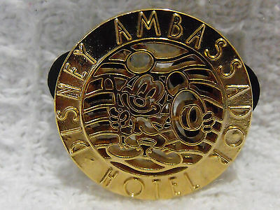 Disney Trading Pin Gold Tone Tokyo Resort Japan Ambassador Hotel Mickey Mouse