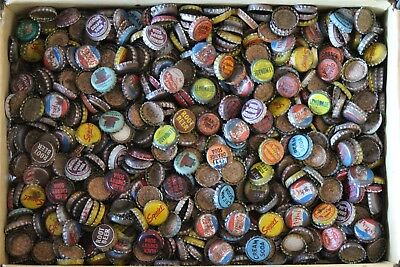 Huge Lot 150+ Cork Lined Vintage Soda Bottle Caps Squirt Mountain Dew Pepsi More