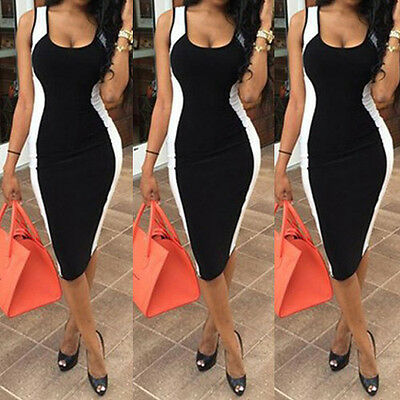 UK Womens Formal Prom Evening Cocktail Party Bridesmaid Ladies Dress Size 6 - 14