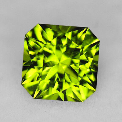 CUSTOM CUT - 6.5MM - 1.63ct - PERIDOT - PAKISTAN