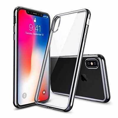 For iPhone X/XS Ultra Thin Transparent Clear Soft TPU Silicone Back Case Cover
