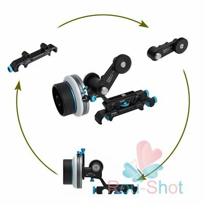 FOTGA DP500III QR A/B Follow Focus + 15mm 19mm Rod Rig Arm + Rocker Arm【AU】