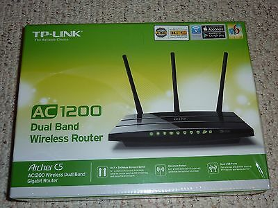 TP-Link Archer C7 Gigabit Wireless AC Router 1300 Mbps AC1750 Like New