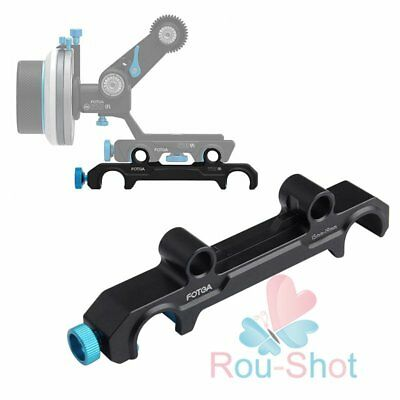 FOTGA 1.5cm to 1.9cm Rail Rod Clamp Adapter for DP500III Follow Focus Rig【AU】