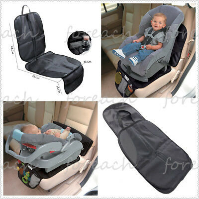 PVC Leather Infant DuoMat 2-in-1 Car Seat Mat Protector Baby Pad Waterproof  USA