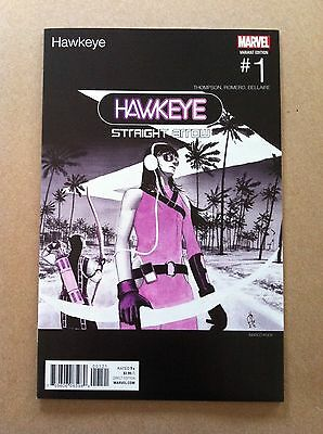 Hawkeye (2016) #1 Marco Rudy Hip-Hop Variant Cover Nm 1St Printing Blackalicious