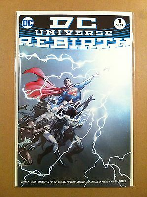 Dc Universe Rebirth #1 First Printing Near Mint Geoff Johns Gary Frank Watchmen