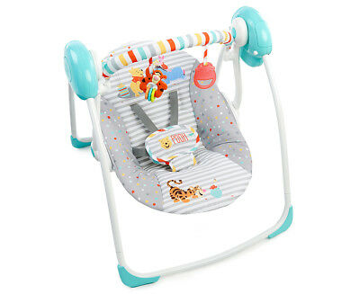 Bright Starts Pooh Happy Hoopla Portable Swing - Multi