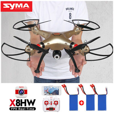 Syma X8HG 8MP HD Camera Drone Altitude Hold Hover Headless Gyro RC Quadcopter