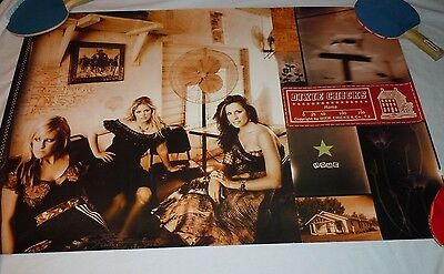 DIXIE CHICKS~Home~Original Promo Poster~2002~24x36~Double Sided~NM Condition
