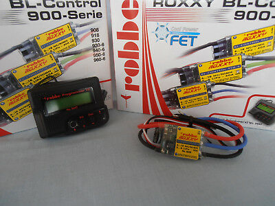 Robbe Roxxy BL-Control FET Programable Speed Contol PLUS Progammer V2