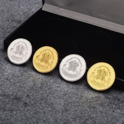 Harry Potter Houses Slytherin/Ravenclaw/ Hufflepuff/ Gryffindor Coins Collection