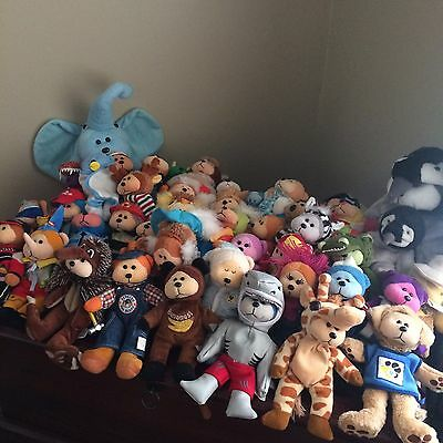 Beanie Bears/Beanie Kids Bulk Lot (44 Bears)