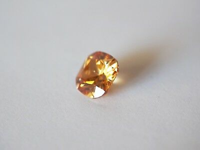 Loose Cubic Zirconia Champagne AAA Cushion 10mm - Brand New! Bargain Price.