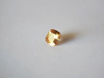 Loose Cubic Zirconia Champagne AAA Cushion 6mm - Brand New! Bargain Price.