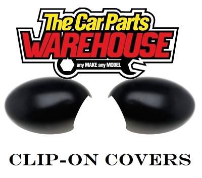 Mini R50 One Replacement Door Mirror Covers Pair Both Sides 2001-09 Quality
