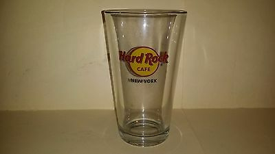 Collectable HARD ROCK CAFE NEW YORK Glass