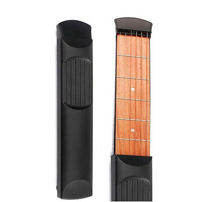 Chord Trainer  Guitar Practice Tool  Pocket Acoustic  String Fingerboard