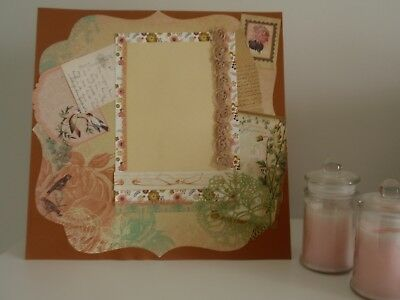 Handmade Scrapbook page - I Dream in Flowers