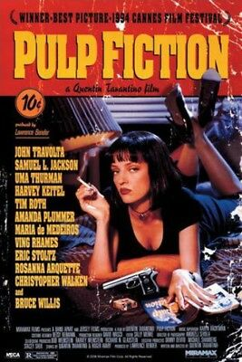 Pulp Fiction - Uma Thurman Film Poster Stampa (91x61cm) #36889