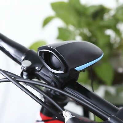 Outdoor Bike Cycling Electric Horn Safety Bicycle Bell USB Charging Equipment
