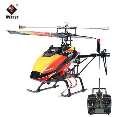 WLtoys V913 Brushless Version 2.4GHz 4CH Large Single Blades RC Helicopter RTF