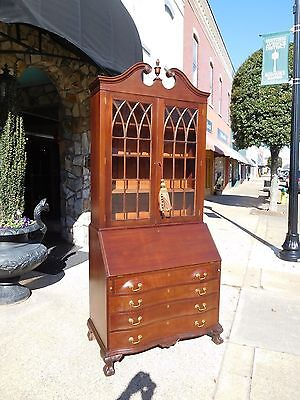 Outstanding Mahogany Chippendale Ball & Secretary Early 20th century