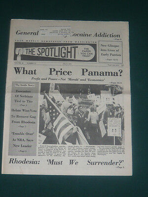 The Spotlight newspaper/July 4 1977/Rhodesia/Founding Fathers/