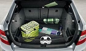 Skoda Octavia (A7) Luggage Nets - Black (5E0017700A)