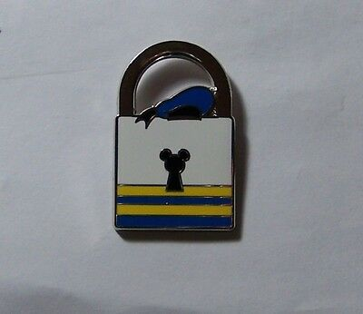 Disney Pin PWP Lock Collection Donald Duck