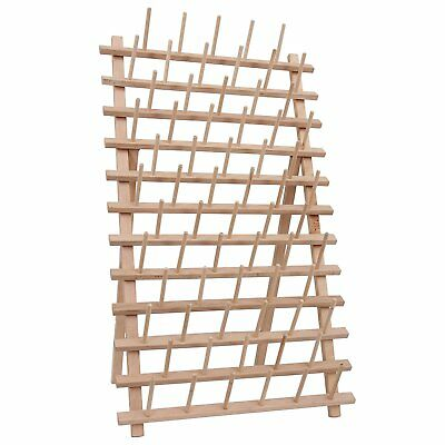 66 Large Spool / Cone Wood Thread Rack - by Threadart - 3 Sizes Available