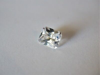Loose Cubic Zirconia White AAA Octagon 10mm x 8mm  - Brand New! Bargain Price!